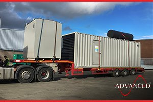 Cummins 1100 kVA Diesel Generator in Acoustic Container with Bespoke Fuel Tank