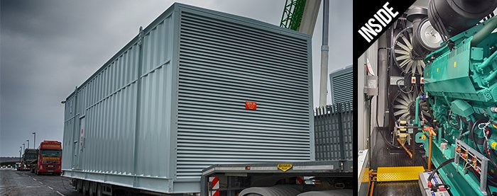 Containerised Diesel Generators in Sound Proof Containers
