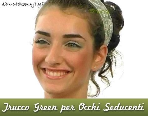 Tutorial di Makeup : Fresco Trucco Green per Occhi Seducenti