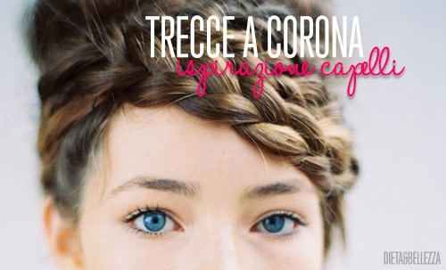 Ispirazione Capelli: Trecce a Corona