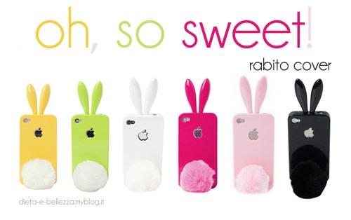 Rabito, la Cover per iPhone Very Cool con le Orecchie e la Coda