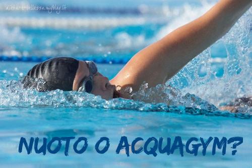 Tutte in Piscina: Meglio Nuoto o Acquagym?