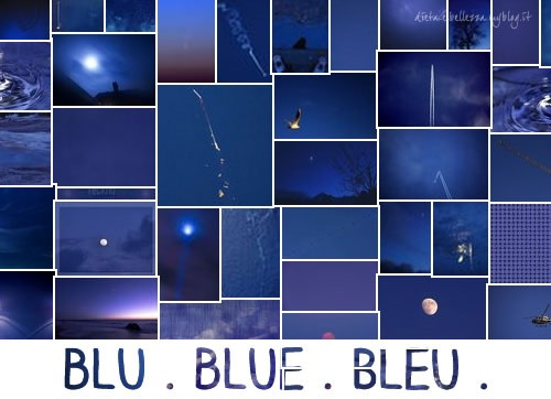 Sunday Colours: Colore Blu e Canzone Caribbean Blue