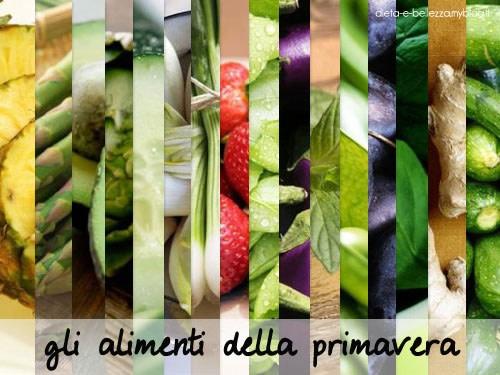6 Alimenti Primaverili per Stare Leggera e Fare il Pieno di Vitamine