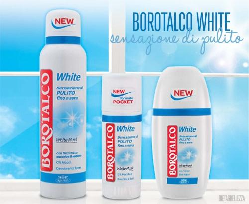 Un Deodorante è Per Sempre, e Borotalco White Lo Sa