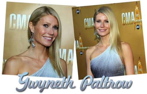 Acconciature delle Star: Liscio Accurato per Gwyneth Paltrow