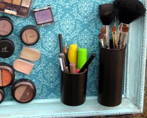 Lavagna Magnetica Fai Da Te per Organizzare i Tuoi Cosmetici