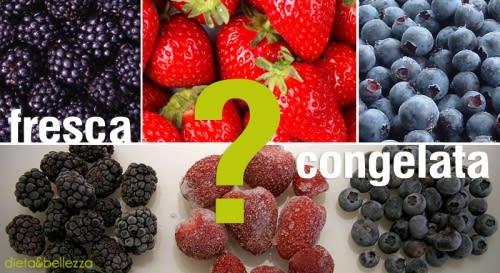 Frutta e Verdura: Meglio Fresca o Surgelata?