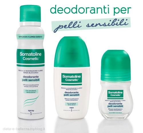 Deodoranti Somatoline Cosmetic, e l'Estate è a Prova di Sudore