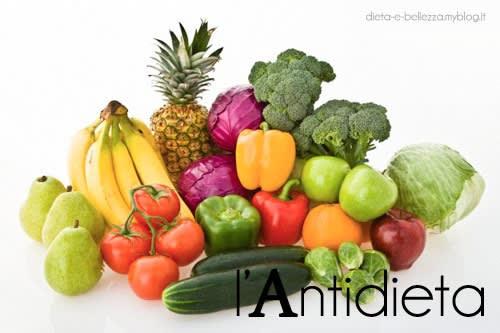 Diete Dimagranti: l'Antidieta e la Combinazione degli Alimenti