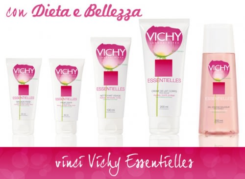 Vinci un Cofanetto Vichy Essentielles con Dieta e Bellezza