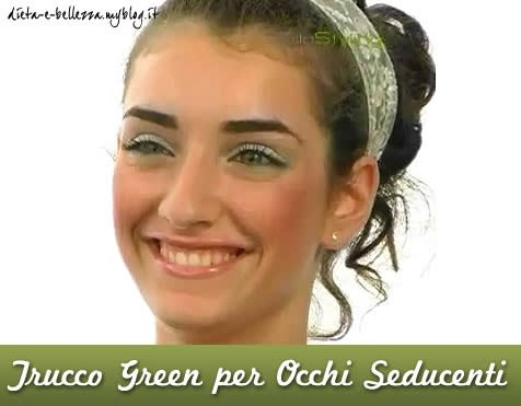 Tutorial di Makeup : Fresco Trucco Green per Occhi Seducenti