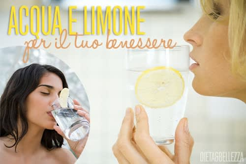 Acqua e Limone per Dimagrire e Stare in Forma