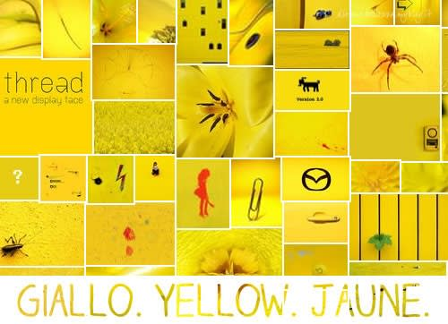Sunday Colours: Colore Giallo e Canzone Yellow Submarine