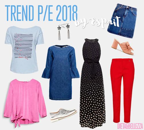Tutti i trend moda primavera/estate 2018 by Esprit