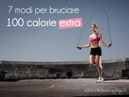 7 Modi per Bruciare 100 Calorie Extra in Meno di 20 Minuti
