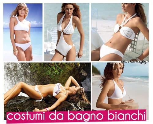 Costumi da Bagno Bianchi per Essere una Diva in Spiaggia
