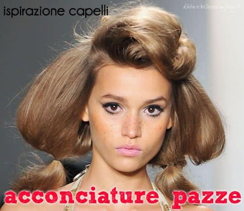Ispirazione Capelli: Acconciature Pazze dalla New York Fashion Week