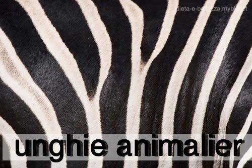 Ispirazione Nail Art: Unghie Animalier con Stampe Wild