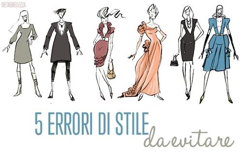 5 Errori di Stile da Evitare a Tutti i Costi