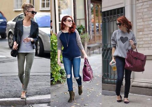 Look da scuola: jeans (2)