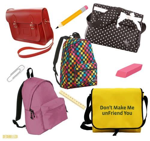 Accessori per la Scuola: borse e cartelle