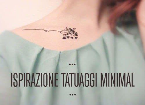 Ispirazione body art: 25 deliziosi tatuaggi mini e minimal