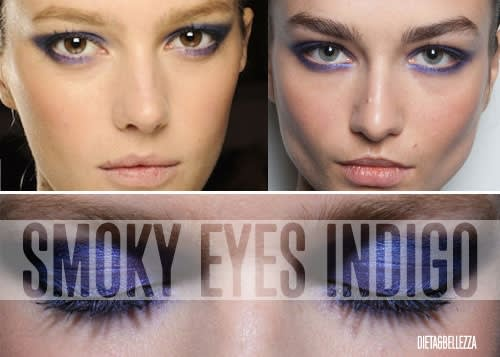 Indigo Smoky Eyes di Jason Wu: Crea il Makeup