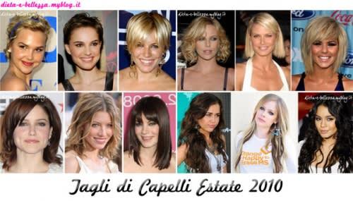 Tendenze Capelli Estate 2010: Capelli Corti, Medi e Lunghi per Tutti i Gusti