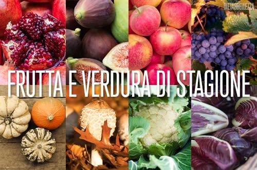 Frutta e Verdura di Stagione: Ecco Cosa Comprare in Autunno