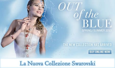 Bijoux Swarovski: Collezione Primavera/Estate 2010 Out of the Blue