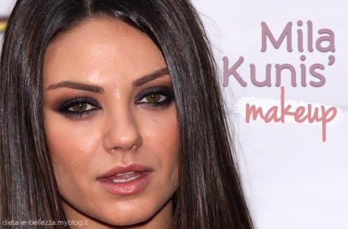 Ecco Come Copiare il Trucco Sexy di Mila Kunis