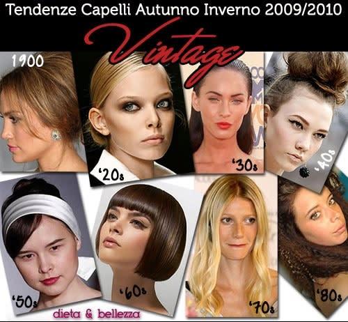 Trend Capelli e Acconciature: Tutte le Tendenze Autunno Inverno 2009/2010
