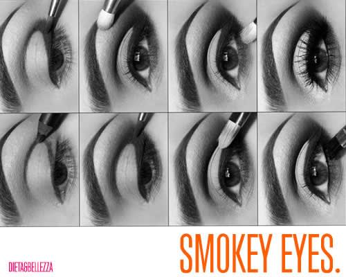 Tutorial Facile Facile per Smokey Eyes da Favola