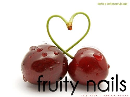 Ispirazione Nail Art: Unghie Fruttate e Primaverili