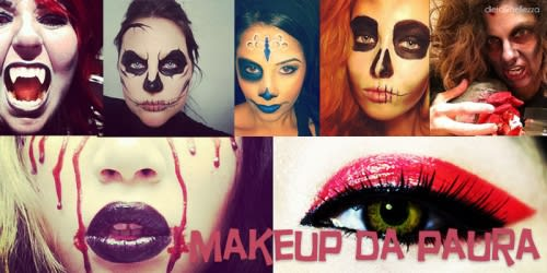 Ispirazione Halloween Last Minute: 17 Idee di Makeup Spaventoso