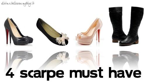 4 Scarpe che Ogni Donna Dovrebbe Avere