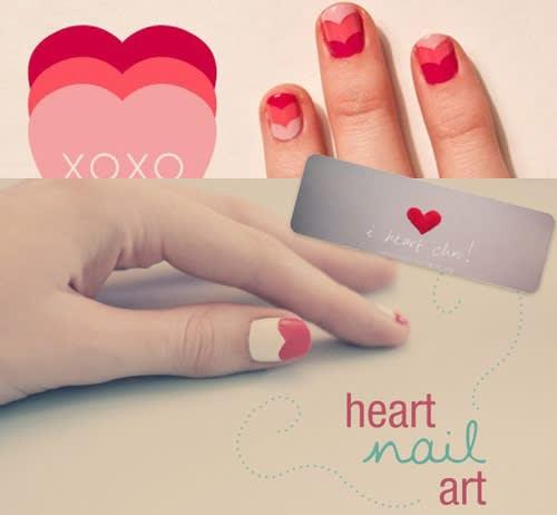 3 Tutorial Nail Art per Romantiche Unghie a Cuoricini