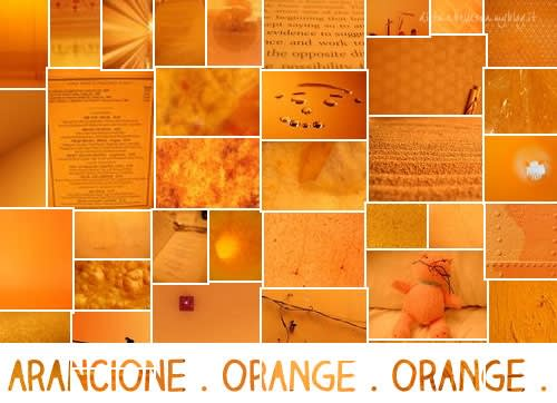 Sunday Colours: Colore Arancione e Canzone Orange Crush