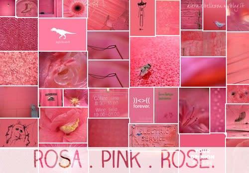 Sunday Colours: Colore Rosa e Canzone Pink
