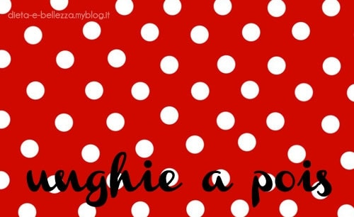 Ispirazione Nail Art: Dot Manicure, la Manicure a Pois per Unghie Chic