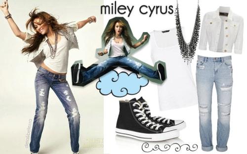 Look da scuola: ispirati a Miley Cyrus