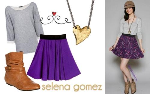 Look da scuola: ispirati a Selena Gomez