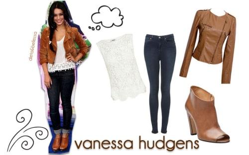 Look da scuola: ispirati a Vanessa Hudgens