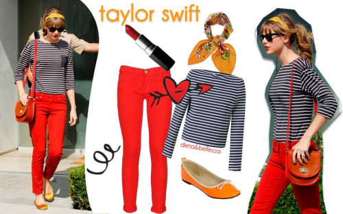 Look da scuola: ispirati a Taylor Swift