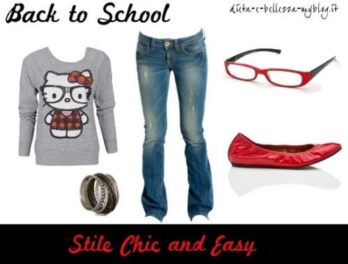 Look da scuola: stile Chic and Easy