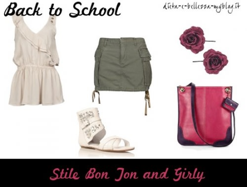 Look da scuola: stile Bon Ton e Girly