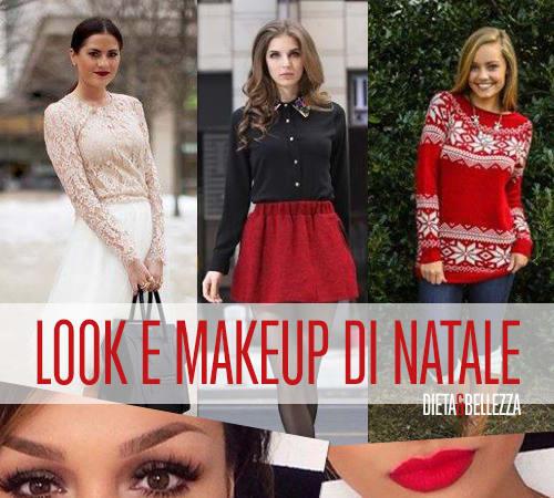 look makeup natale