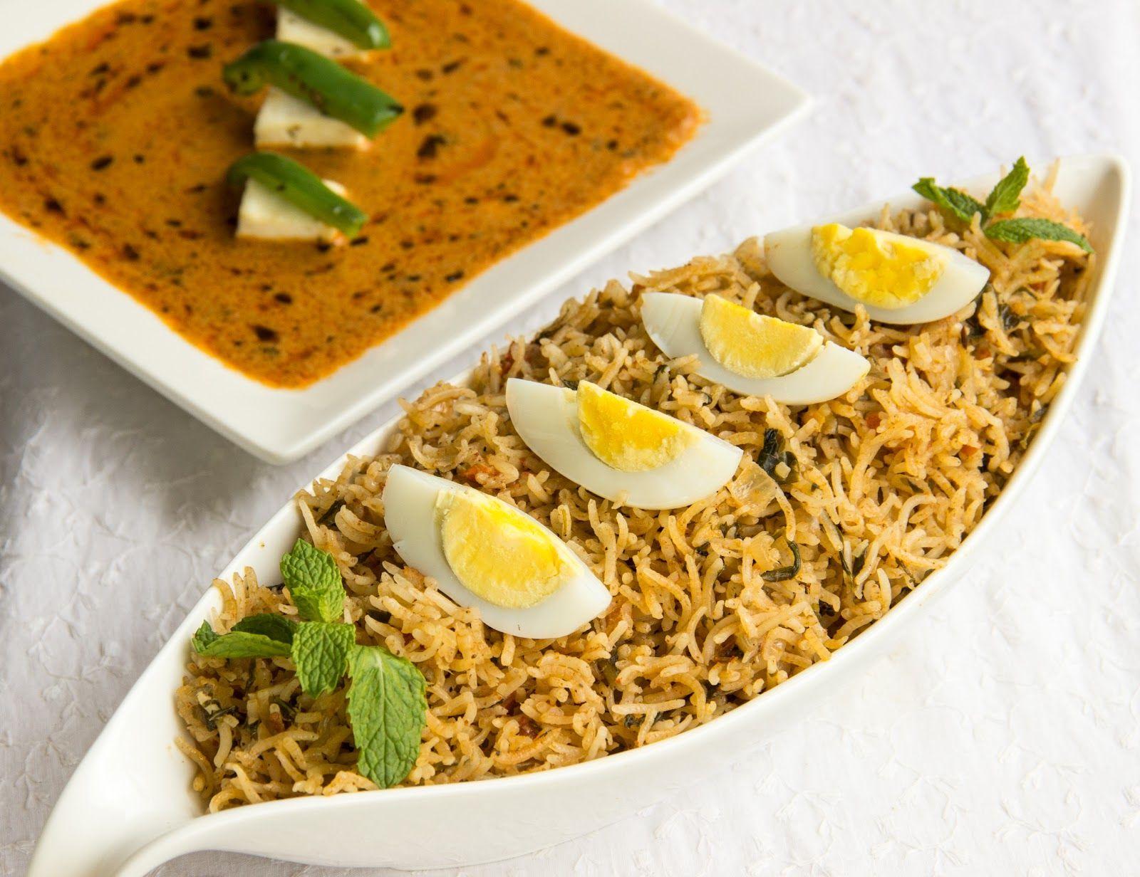 Hyderabadi Egg Biryani recipe for healthy diet