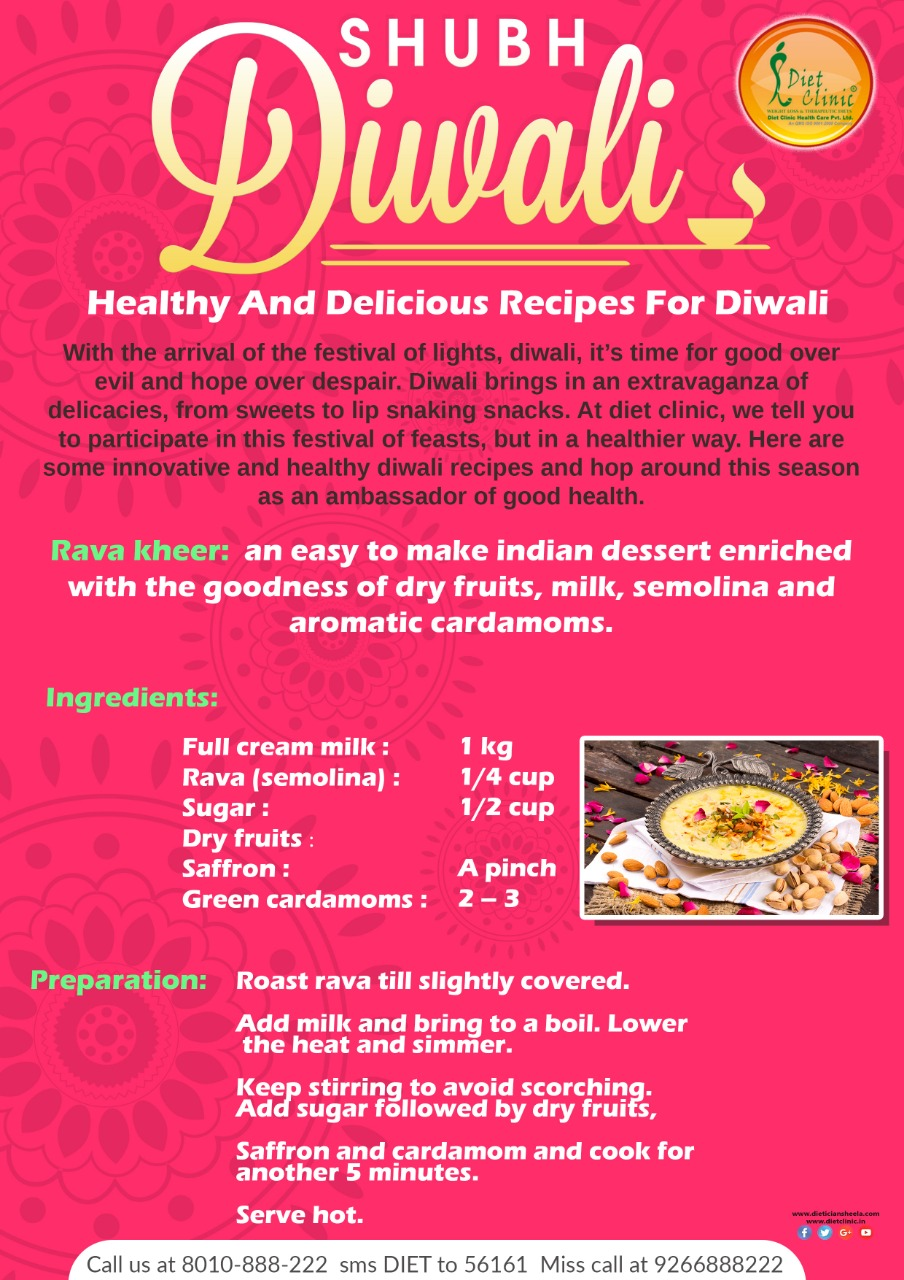 Diwali diet Tips